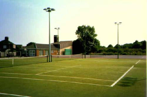 Grimsby Tennis Centre - courts