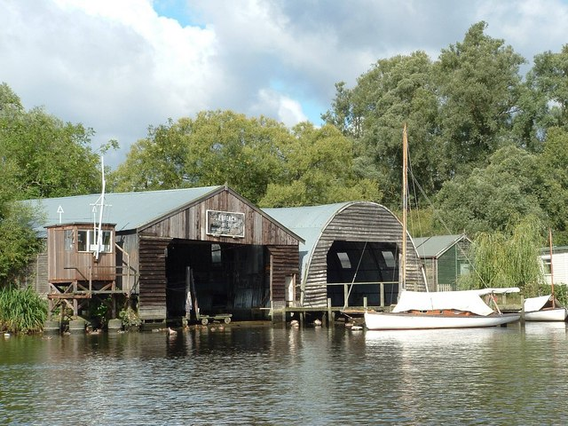 Coldham Hall Boatyard, River Yare