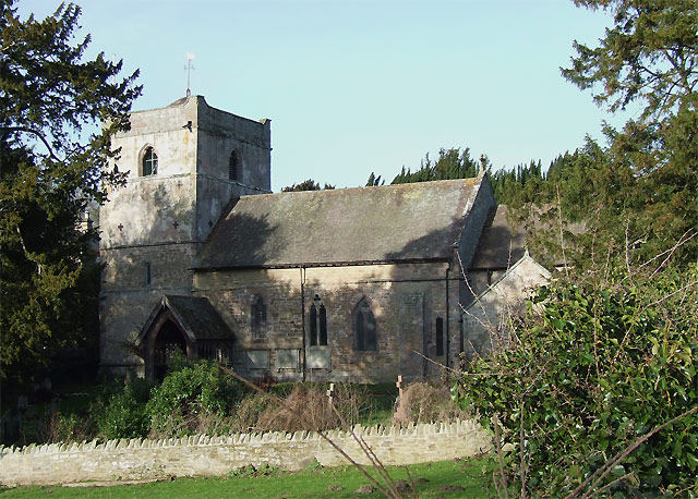 The Church of St Michael at Munslow, Shropshire