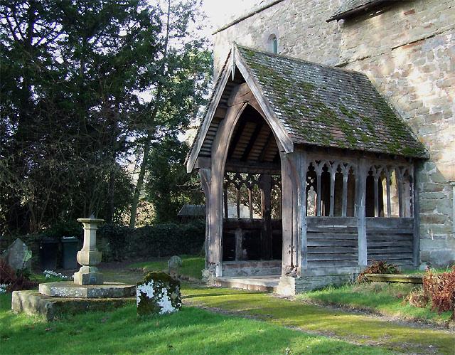 St Michael's Church (south porch), Munslow, Shropshire