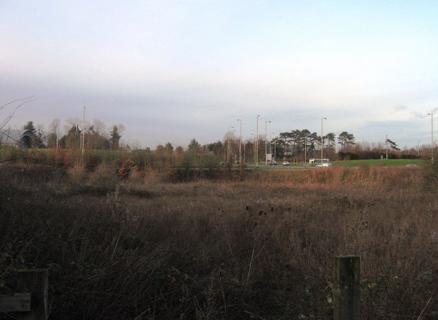 Open ground close to Town Centre West roundabout
