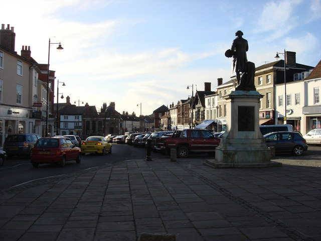 Sudbury town centre