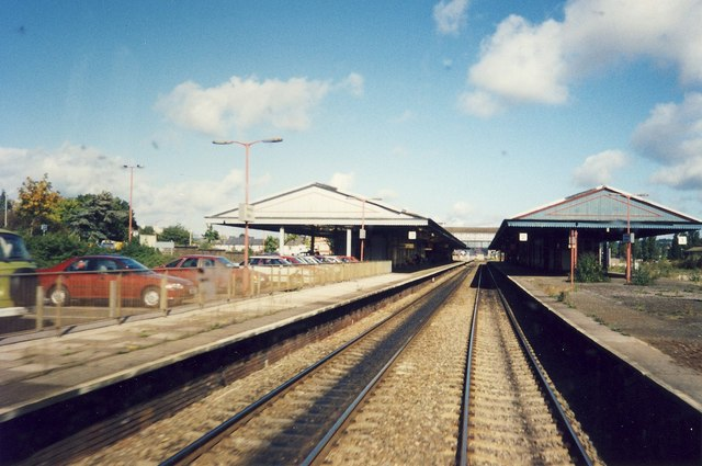 Newton Abbot Station.
