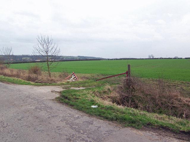 Broken Gate on Bridge Lane