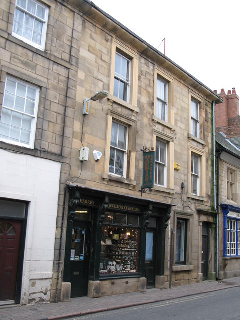 Harris's - Jewellers of Hexham, Market Street