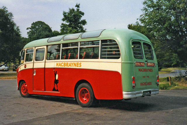 Macbraynes Vintage Coach, Brodick, Isle of Arran
