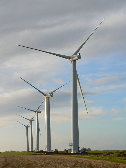 Westmill wind farm, Watchfield 1st February 2008