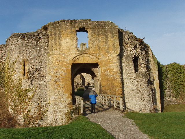 South Barbican of Helmsley Castle