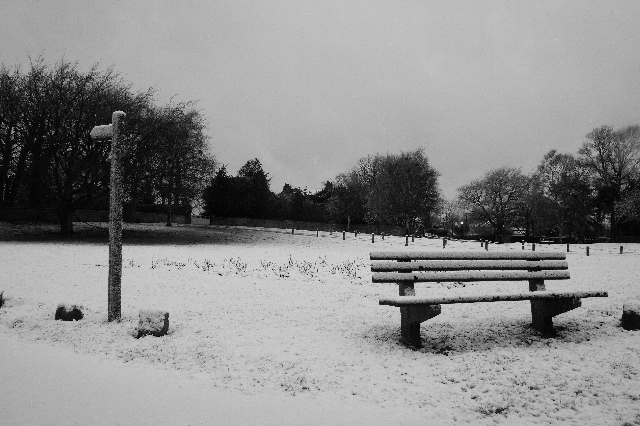 Seat on the Village Green, Newton-under-Roseberry