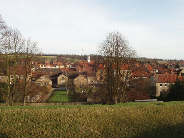 Helmsley from the castle