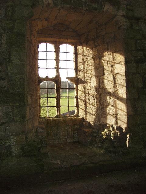 Window, Helmsley Castle