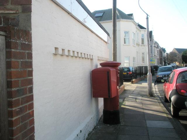 Post box in St Ronan's Road