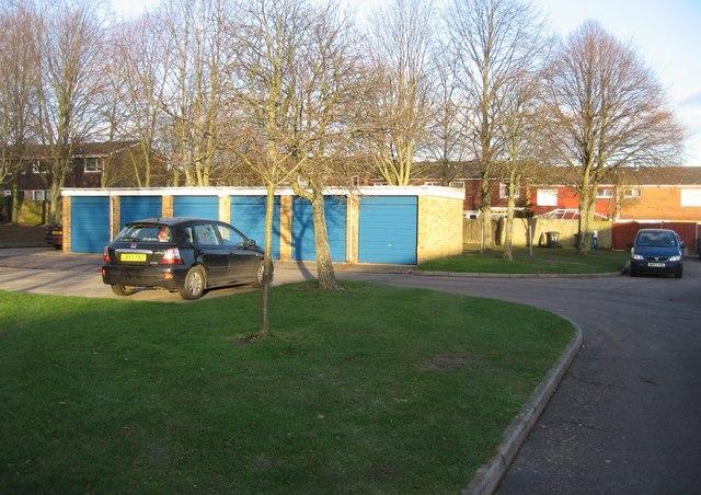 Ludlow Close garages