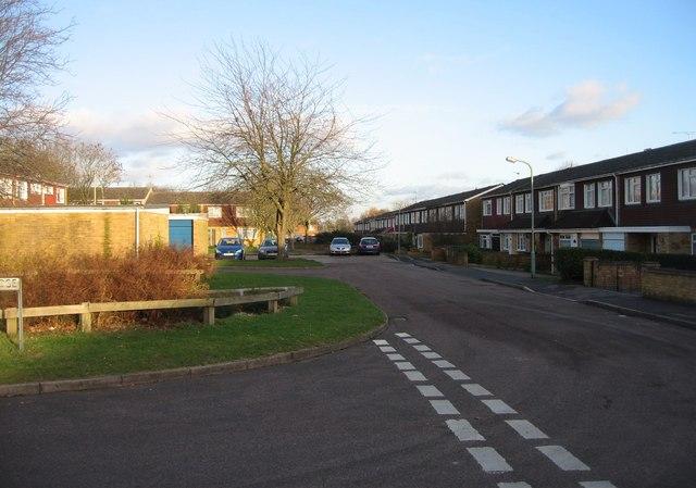 Harlech Close housing