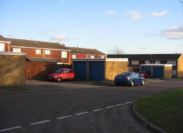 Harlech Close garages