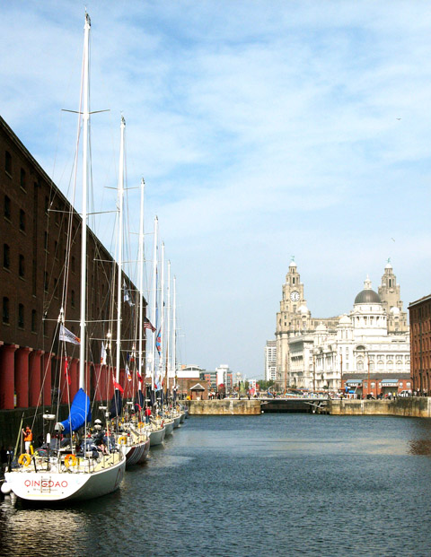 Albert Dock and the Three Graces