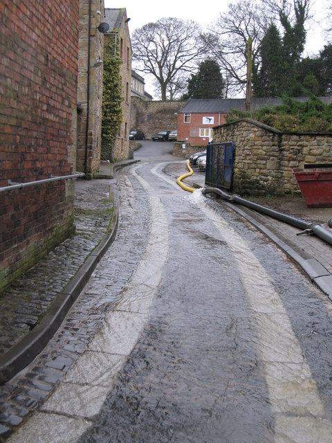 The entrance to Tanners' Yard