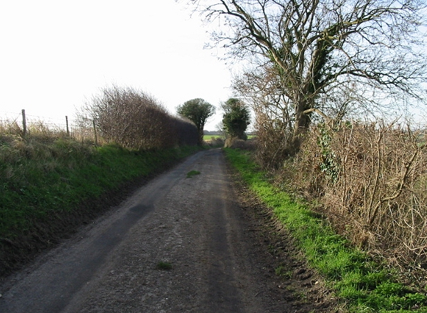 View SW along Thornton Lane