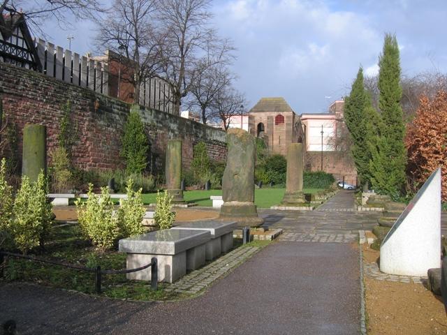 Roman Garden and the city walls