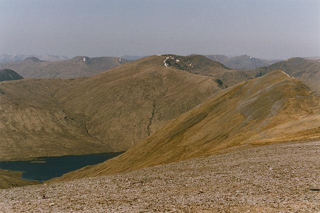 Western slopes of Carn Eige