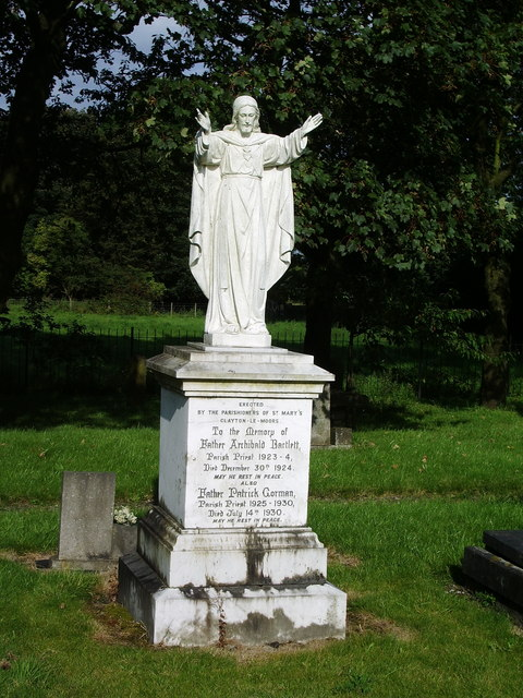 St Mary's Burial Ground, Clayton-Le-Moors, Memorial