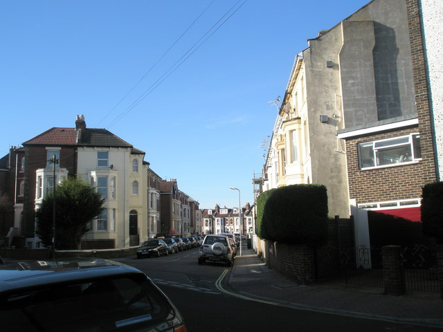Junction of St Ronan's Road and Waverley Grove