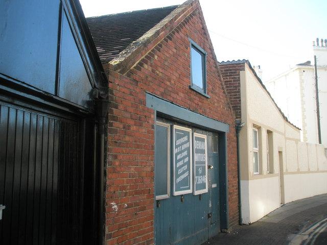 Garage in St Ronan's Road