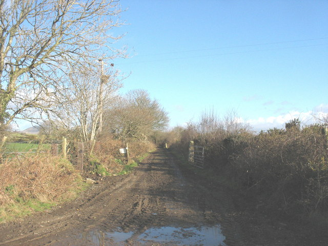 A new path created under the Environmentally Sensitive Areas scheme