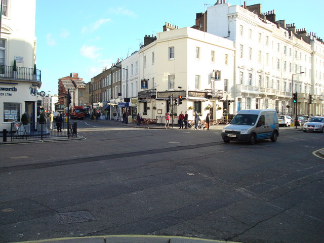 Belgrave Road, Junction with Warwick Way