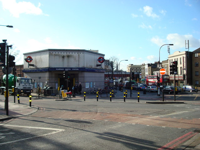 Clapham North Underground Station
