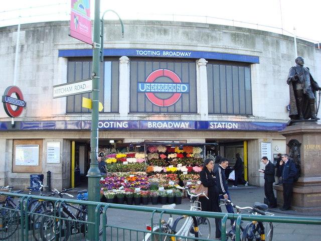Tooting Broadway Underground Station