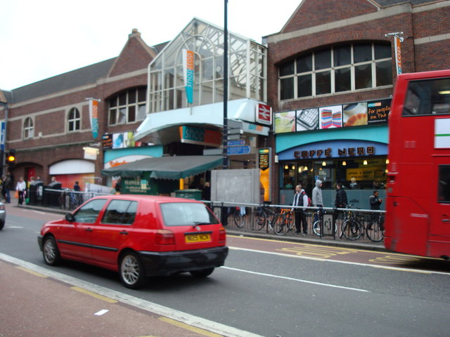 Entrance to Clapham Junction Railway Station / Shopping Centre