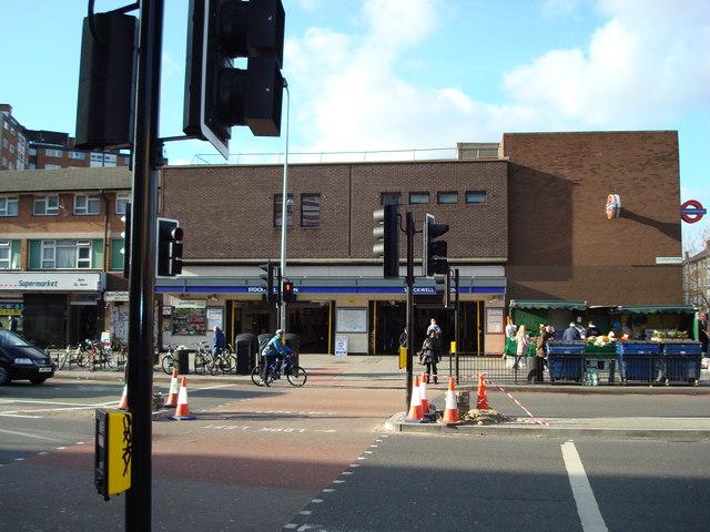 Stockwell Underground Station