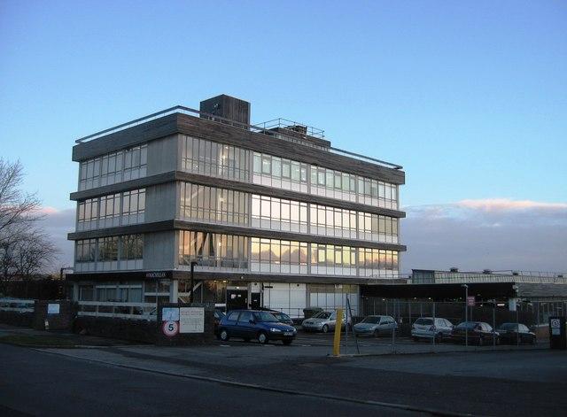 Macmillan offices - Brunel Road