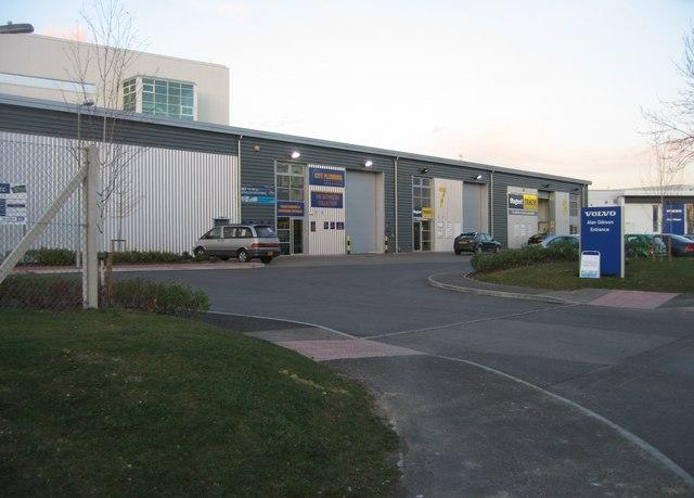 Light industrial estate