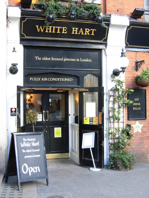 The White Hart, Drury Lane