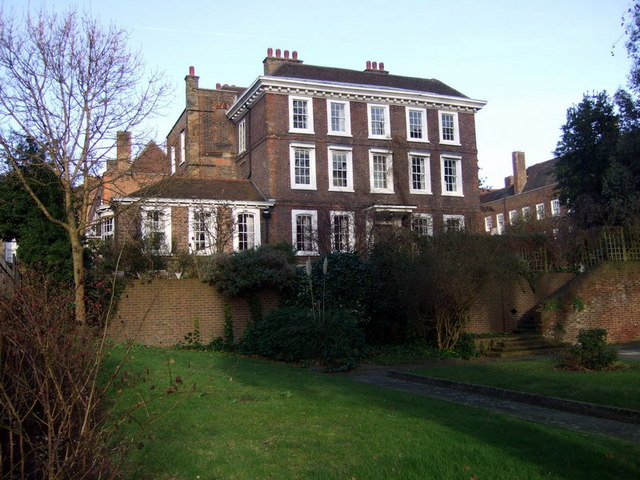 Burgh House in New End Square