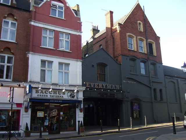 The Everyman cinema, Hampstead