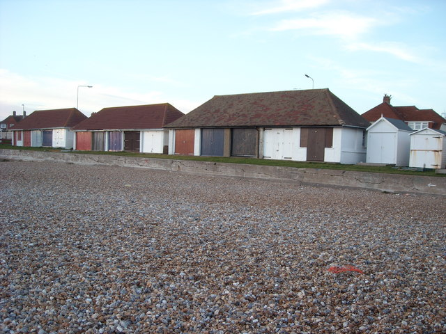 Old Fashioned Beach  Huts, Bexhill-on-Sea
