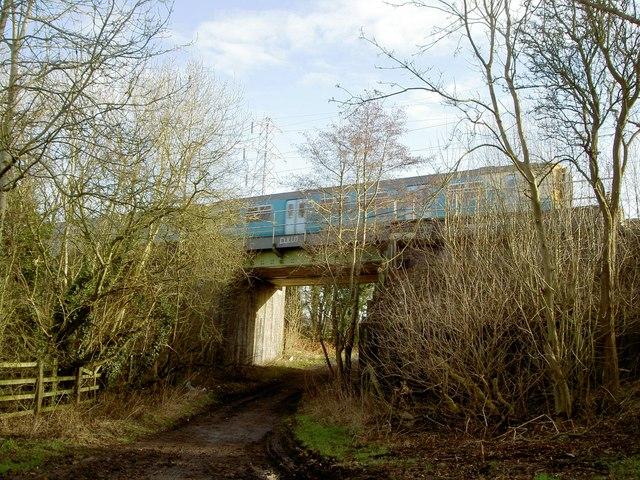 Railway Bridge over Landican Lane.