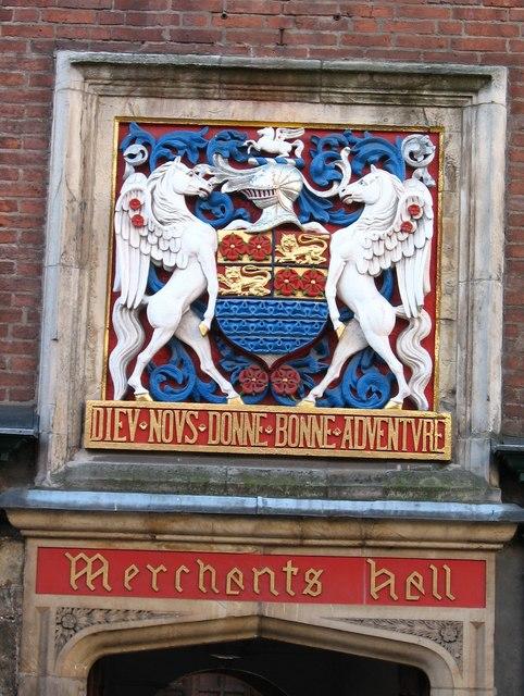 Merchants Hall coat of arms