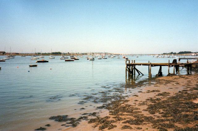 Blackwater Estuary from Maldon, Essex