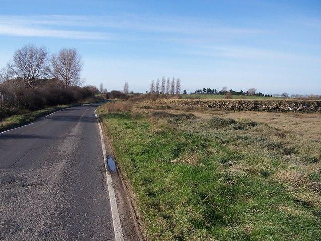 West towards Lower Halstow from Funton