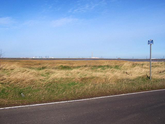 Marshland near Funton