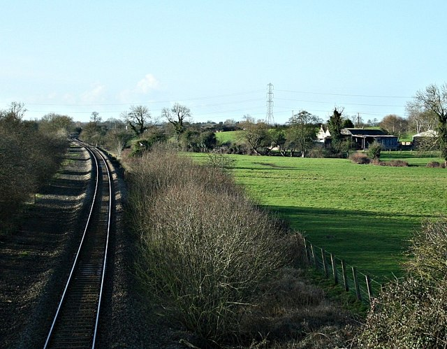 2008 : From Melksham Lane Railway Bridge