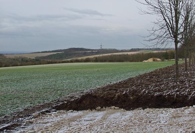 Wold view, near Brantingham