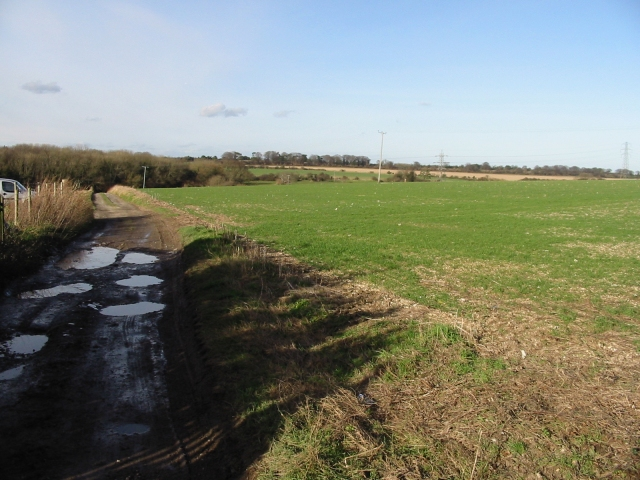 Bridleway to Thorntonhill Cottages
