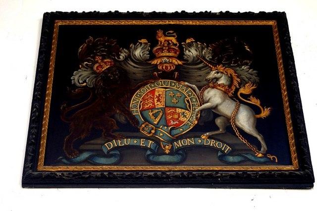 Royal arms of George II