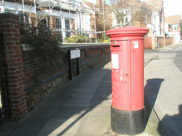 Postbox in Craneswater Avenue