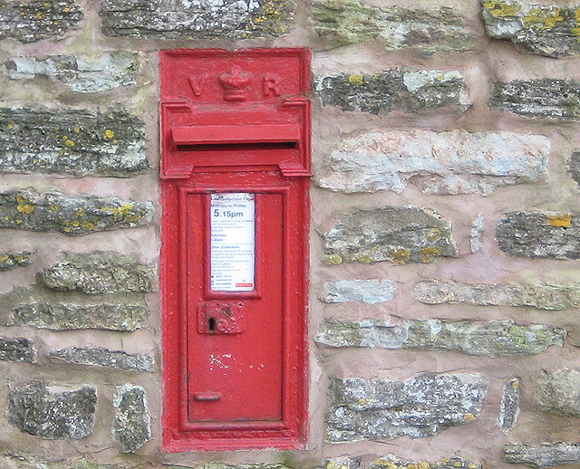 Victorian postbox, Taynton